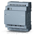 LOGO! DM16 24R, EXP. MODULE, PU/I/O: 24V DC/24V DC/RELAY, 8 DI/8 DO, 4TE FOR LOGO! 8 - 6ED1055-1NB10-0BA2