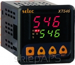 A multifunctional clock, delayed switch on / delayed switch off, cycling, 1 setpoint valuminium framee 85...270V AC/DC, 48x48mm - XT546-CU