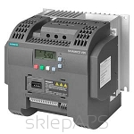 SINAMICS V20 1AC200-240V -10/+10% 47-63HZ RATED POWER 1,1KW WITH 150% OVERLOAD FOR 60SEC INTEGRATED FILTER C2 I/O-INTERFACE: 4DI, 2DO,2AI,1AO FIELDBUS: USS/ MODBUS RTU WITH INBUILT BOP PROTECTION: IP20/ UL OPEN TYPE SIZE:FSB 140X160X165(HXWXD) - 6SL3210-5